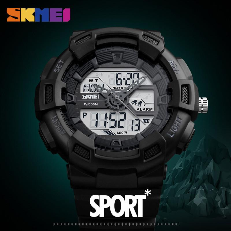 SKMEI Military Dual Display Sports Watch