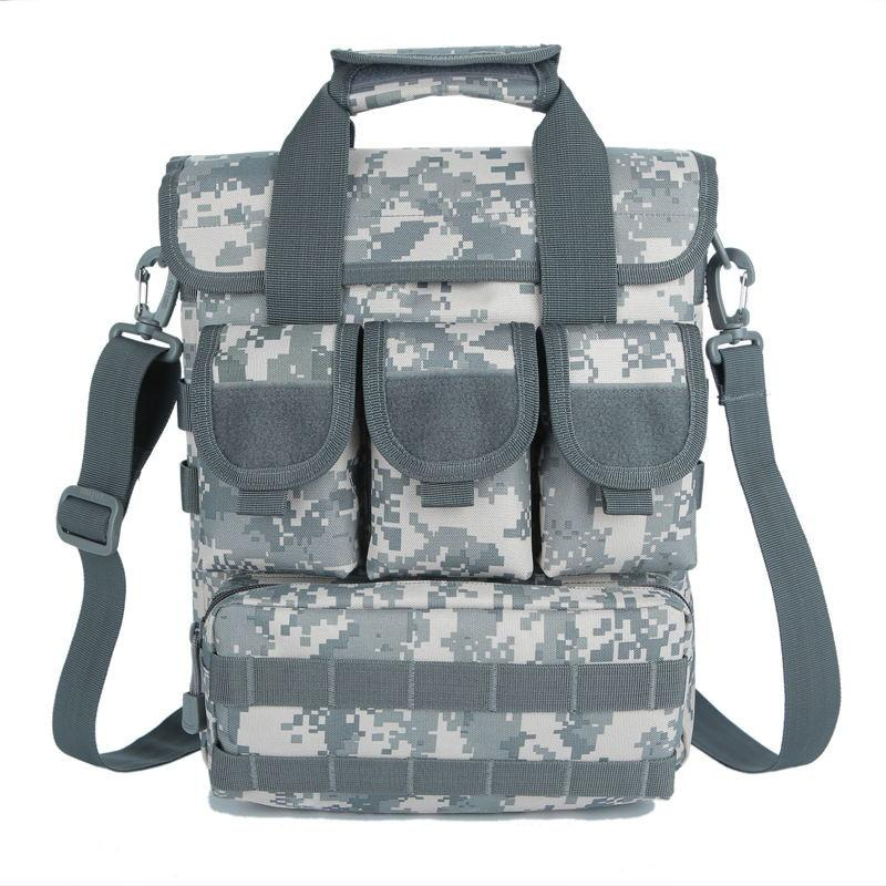 Single Shoulder Bag Tactical Men Handbags Messenger Bags 14inch Computer Cordura 1000D Nylon