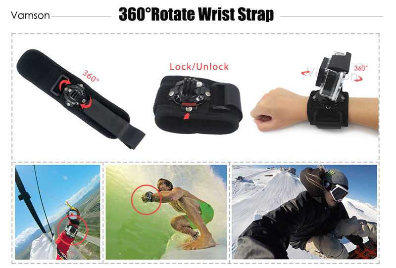 Tactical Accessories for Go Pro Hero