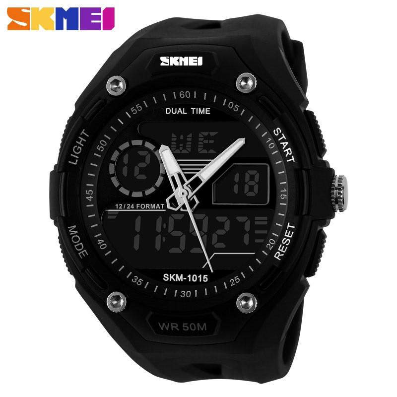 Multi-functional Watch for Men with Dual Analog and Digital Display