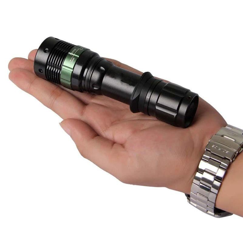 CREE XM-L T6 1200 Lumen Zoomable  LED Flashlight
