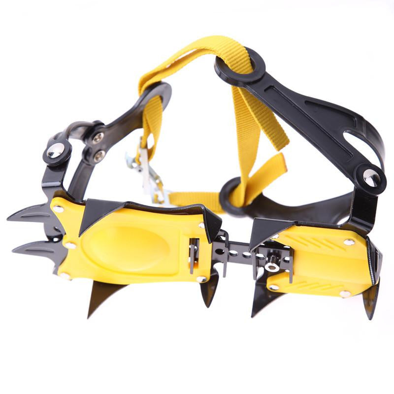 High Altitude Non-Slip Ice Gripper Crampons for Snow Walking, Climbing, and Hiking