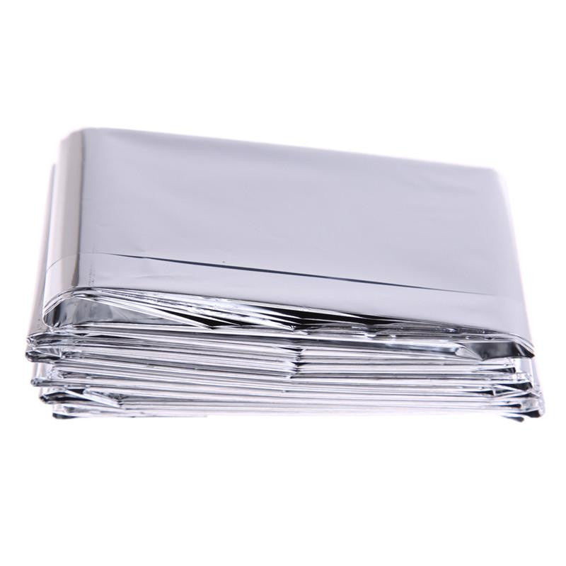 Life Saver Outdoor Silver Thin Blanket and Camping Mat