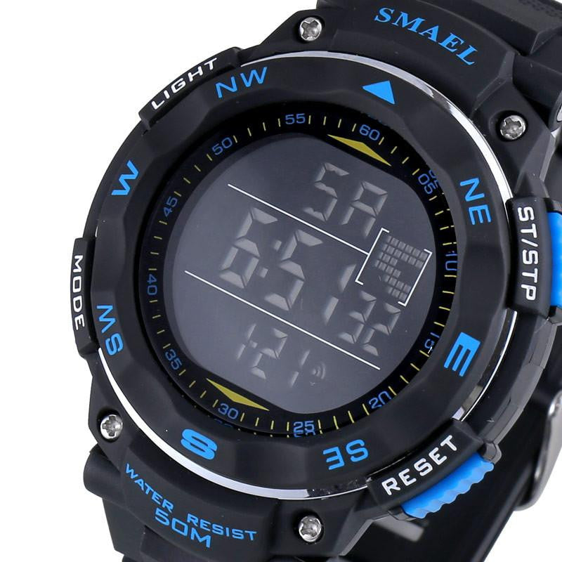Luxury Brand SMAEL Solid Luminous Dial Men's Sports Watch