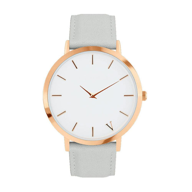 Simple and Fancy Watch for Women with Genuine Leather Strap and Analog Display