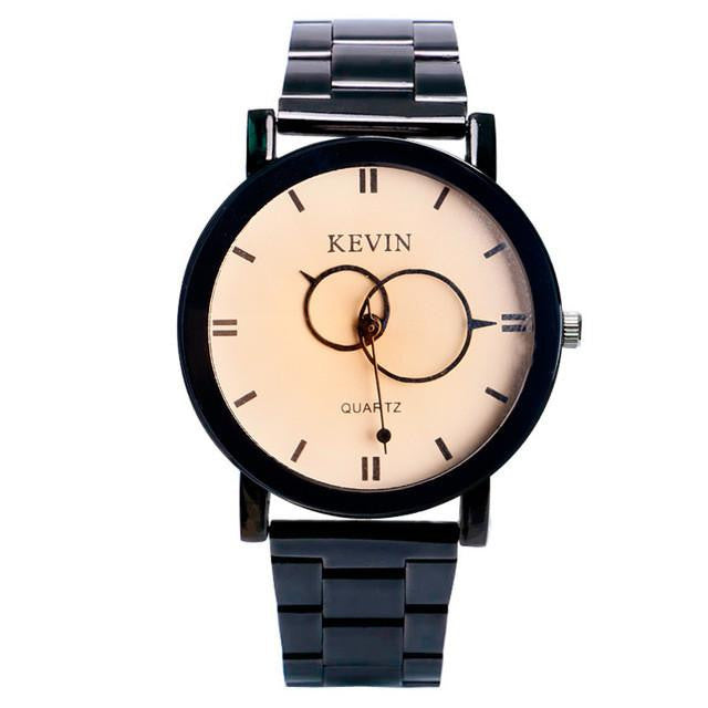 Trendy KEVIN Watch for Women with Analog Display and Stainless Steel Strap