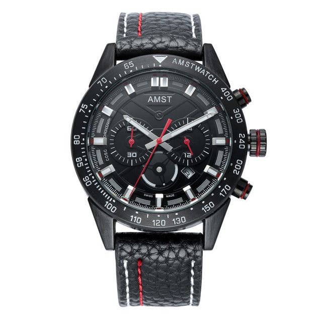 Men's Uber Elite Military Water Resistant Watch