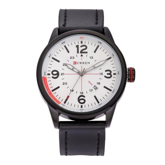 Sophisticated CURREN Watch for Men with Premium Leather Strap