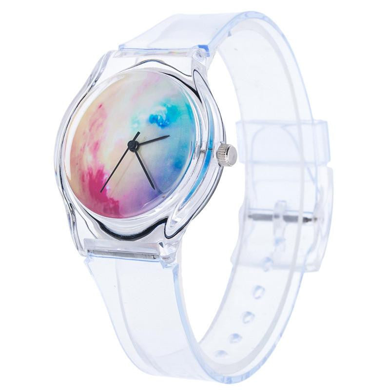 Playful Looking Watch for Kids with Silicone Strap and Analog Display