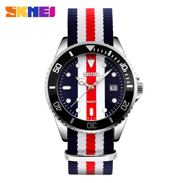 New Fashion SKMEI Multi-Striped Casual Sports Watch For Men