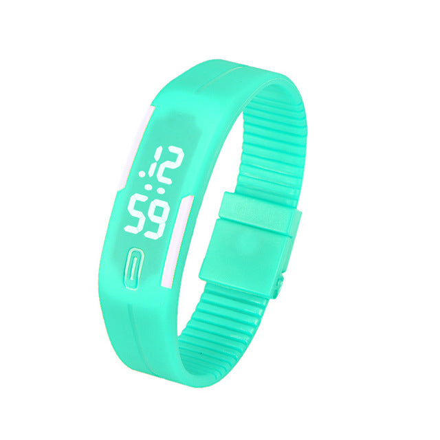 Trendy Unisex Bracelet Unisex Watch with Unique Digital Display