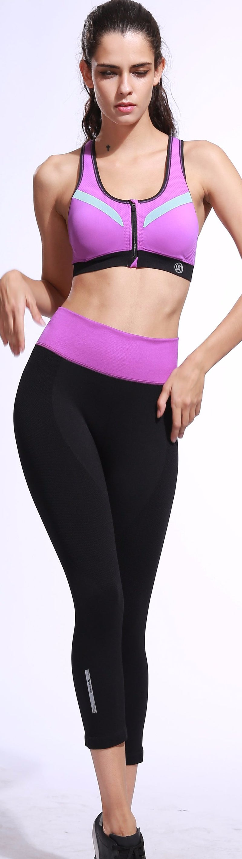 Ultra Elastic Soft Sport Fitness Leggings for Women