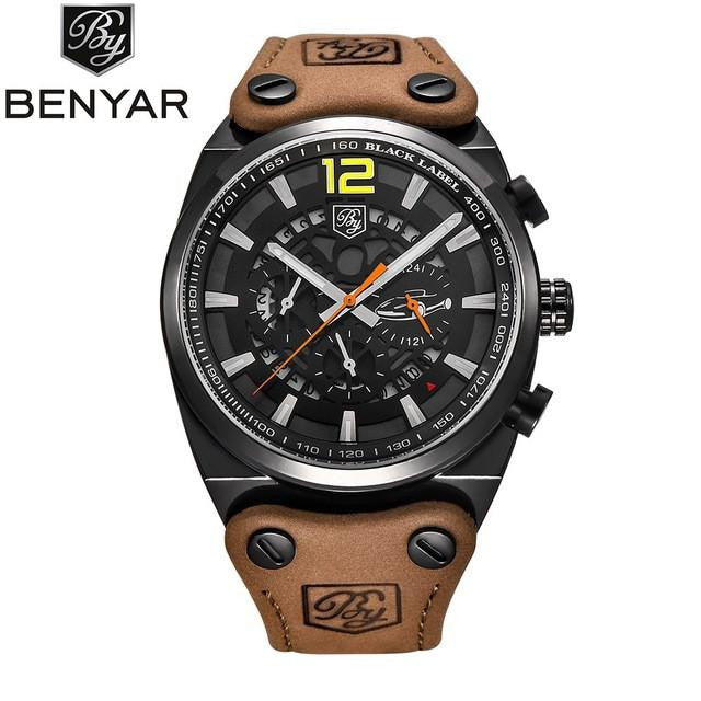 Amazing BENYAR Classic Watch for Men with Analog Display