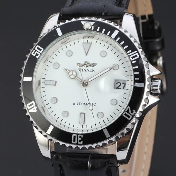 Extreme Brand WINNER Men's Full Steel Watch With Accurate Analog Display