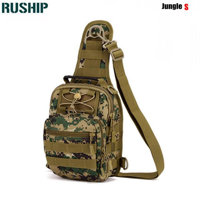 Men Crossbody Messenger Bag Chest Pack Molle Shoulder Bags Outdoor Camping Equipment