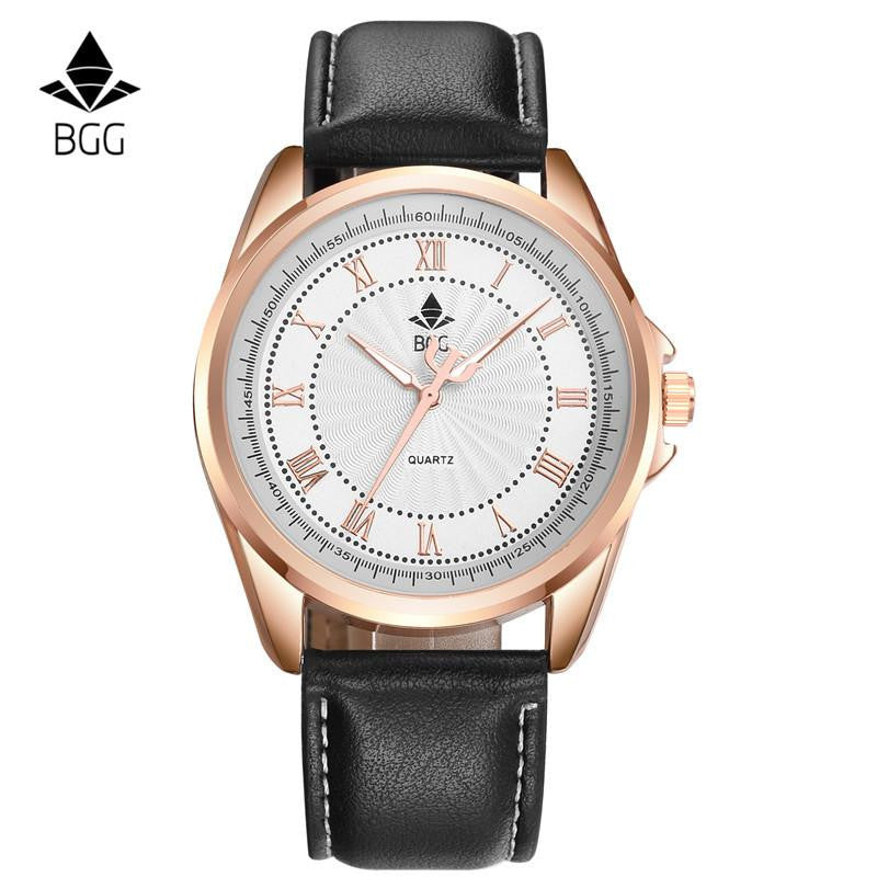Retro Design BGG Men's Business Casual Watch