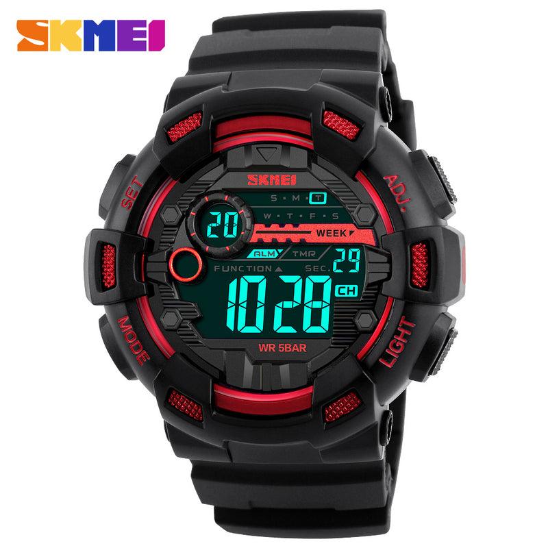 The Shield SKMEI Multi-featured Tactical Sports Watch for Men