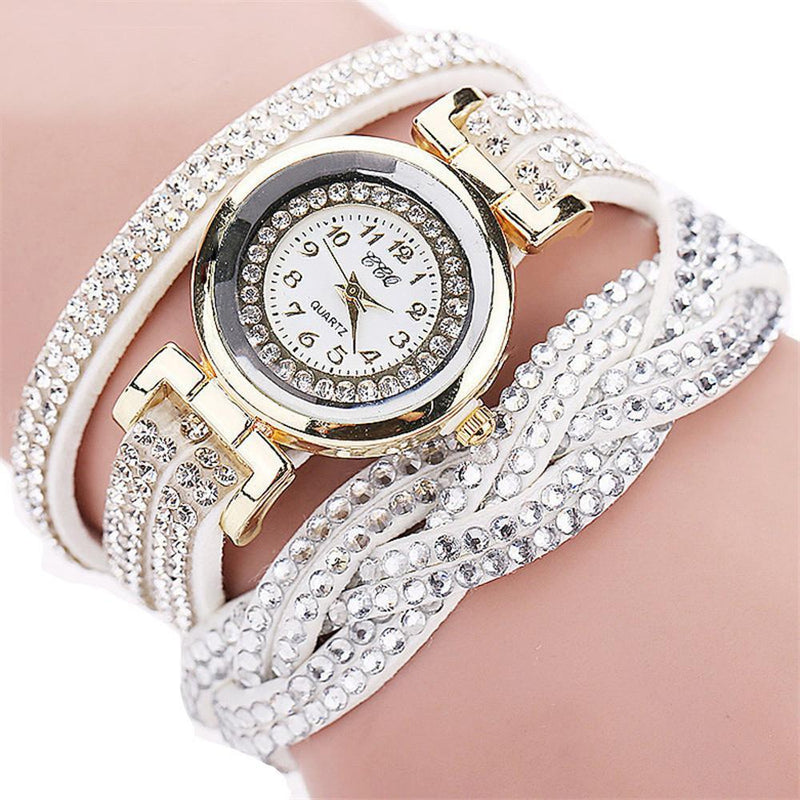 Feminine Elegance CCG Rhinestone Ladies  Stylish Bracelet Watch