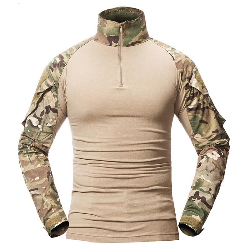 Tactical Combat Long Sleeve Shirt for Men