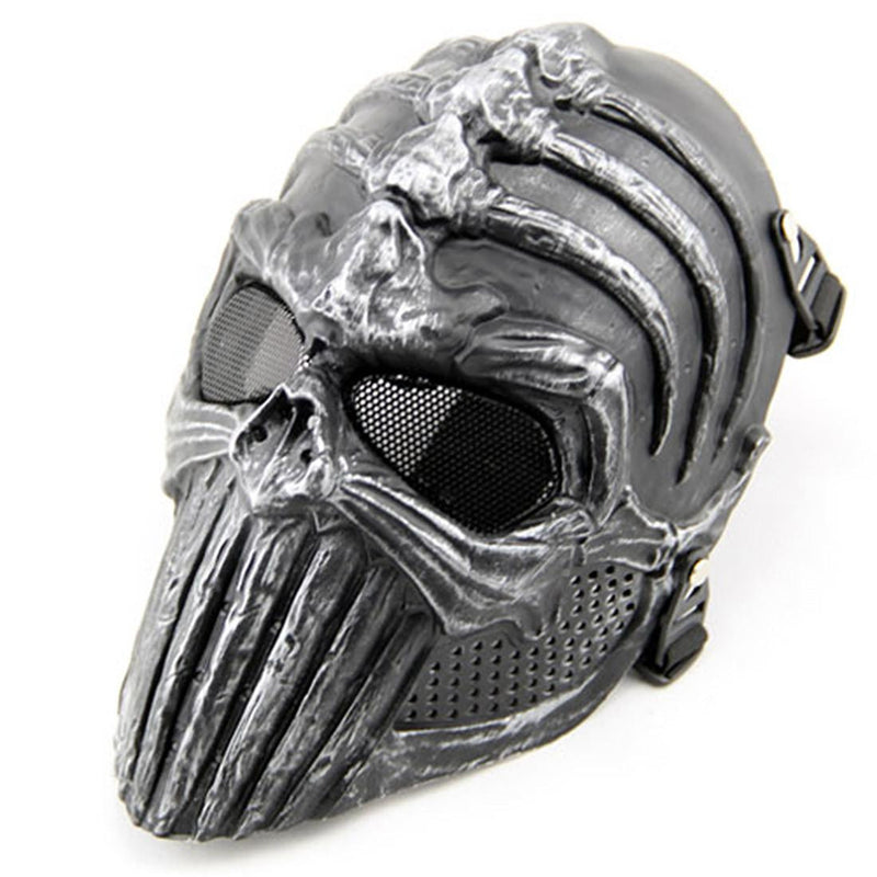 CS War Game Skull Mask Outdoor Skeleton Airsoft Full Face Tactical Protective Gear