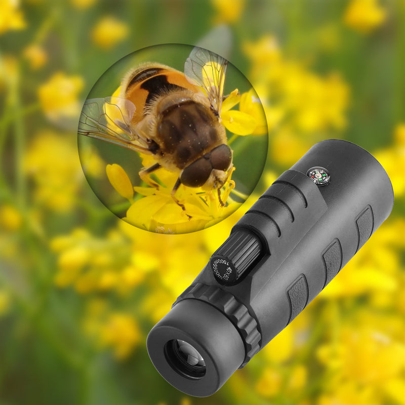 Powstro 40x60 HD Zoom Optical Monocular Telescope Phone Lens  Observing Survey Camping Telescope With Holder For All Phone