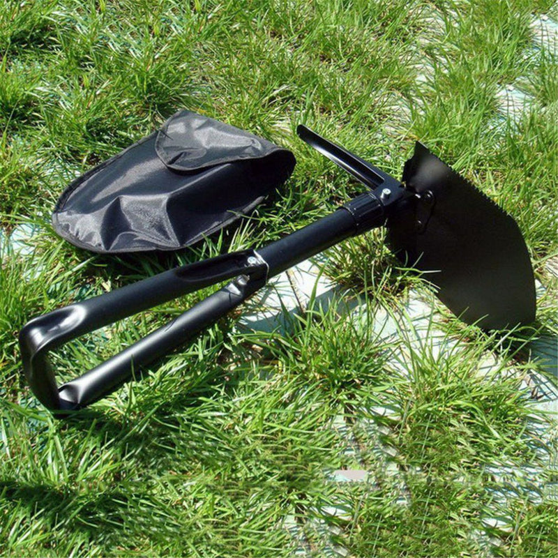 Carbon Steel Army Military Folding Spade Shovel Camping Metal Portable Survival Outdoor Tool High Quality