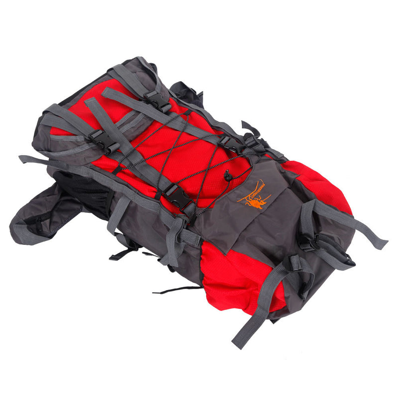 Free Knight SA008 60L Outdoor Waterproof Hiking Camping Backpack Red