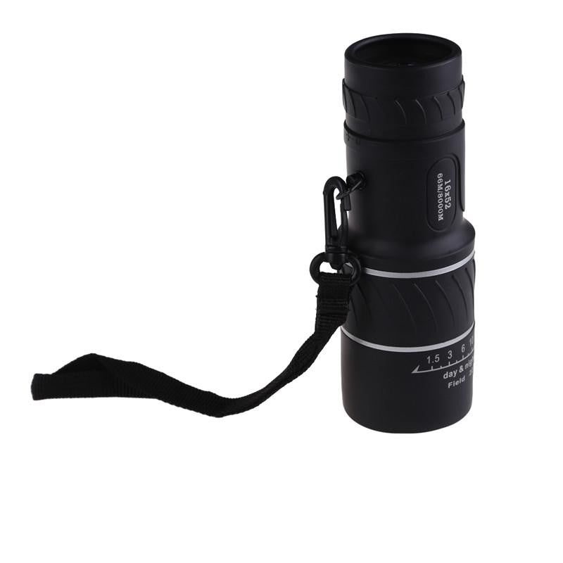 High Quality Focus 16x52 Monocular Spotting Scope with Outdoor Hunting Pouch