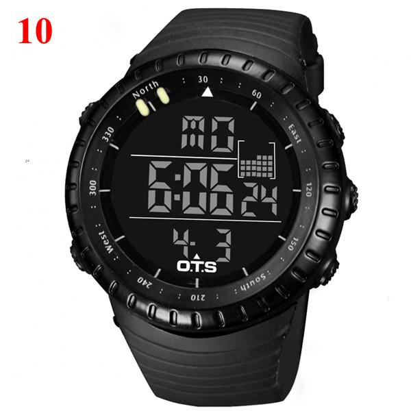 Men's 50M Professional Waterproof Sports Watch Men Digital Large Dial Military Luminous Wristwatches - Gogobomo Gear