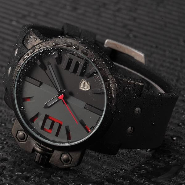 Official Shark Salmon Ultra Military Silicone Sport Watch