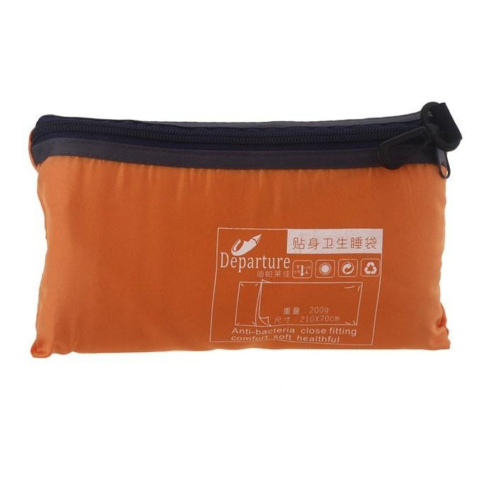 Ultra-light Portable Single Sleeping Bag Liner Polyester Pongee Healthy Outdoor Camping Travel - Gogobomo Gear