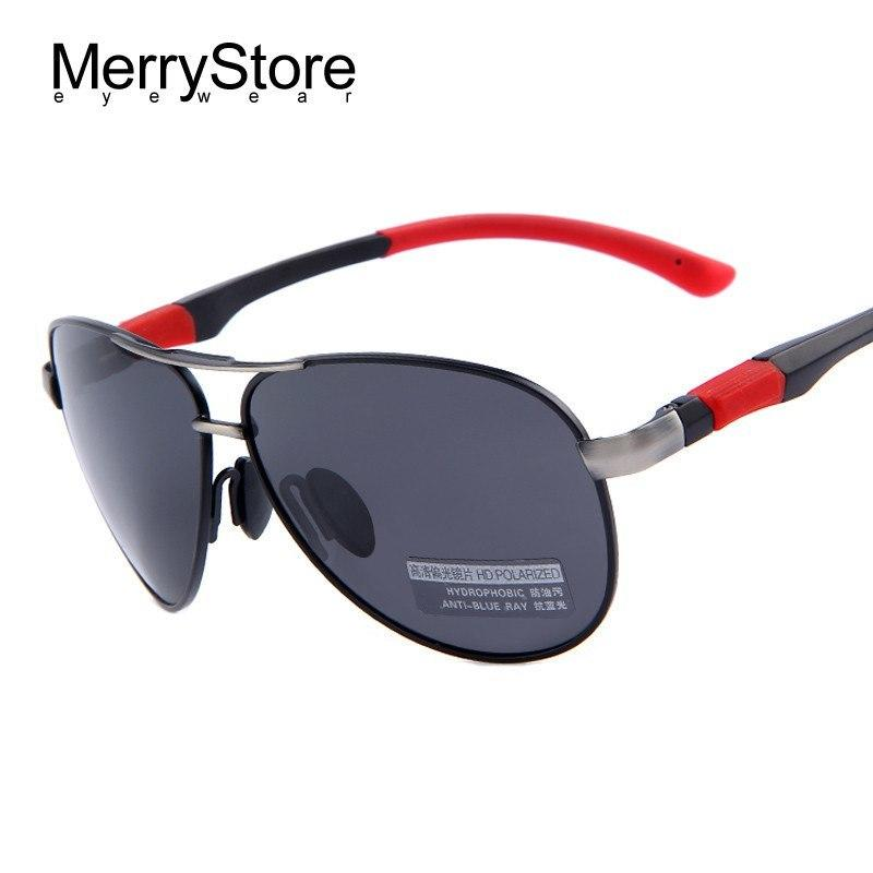 Men's Aviator Sunglasses HD Polarized Glasses Men Sport Outdoor Sun Glass - Gogobomo Gear