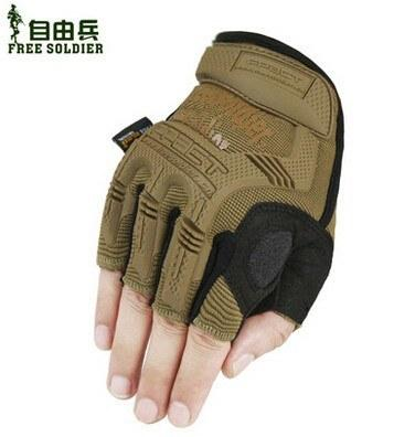 Half Finger Tactical Gloves Sport Camping Climbing Training Hiking Cycling Men's Wear Non-Slip - Gogobomo Gear