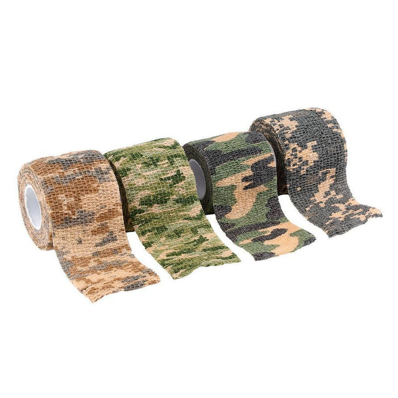 Army Camo Outdoor Hunting Shooting Tool Camouflage Stealth Tape Waterproof Wrap Durable Cloth - Gogobomo Gear - 2
