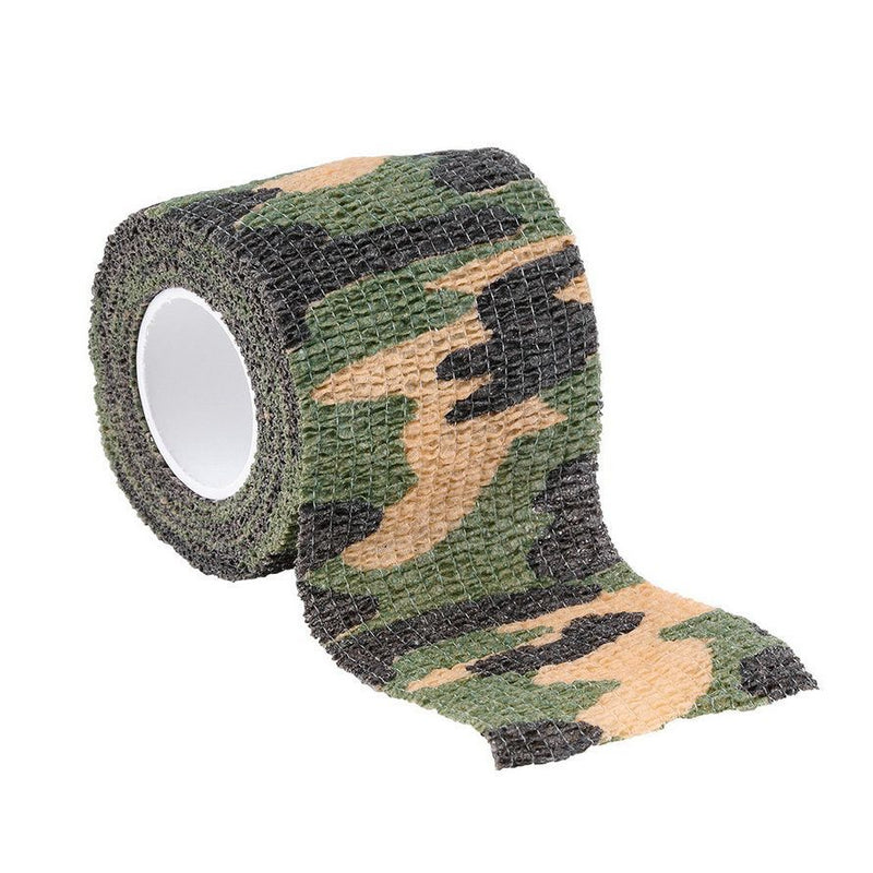 Army Camo Outdoor Hunting Shooting Tool Camouflage Stealth Tape Waterproof Wrap Durable Cloth - Gogobomo Gear - 3