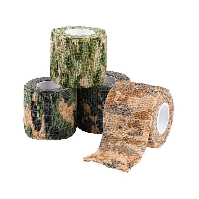 Army Camo Outdoor Hunting Shooting Tool Camouflage Stealth Tape Waterproof Wrap Durable Cloth - Gogobomo Gear - 4