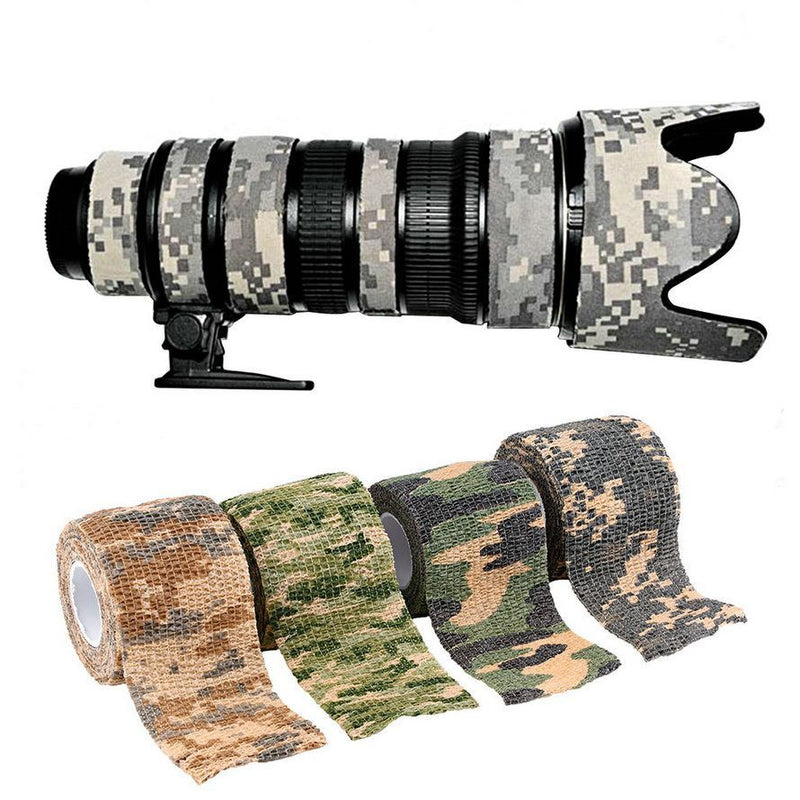 Army Camo Outdoor Hunting Shooting Tool Camouflage Stealth Tape Waterproof Wrap Durable Cloth - Gogobomo Gear - 5