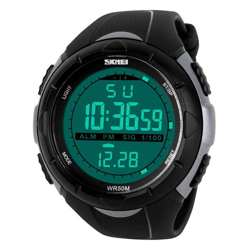 Men's LED Digital Sports Watch 50M Dive Swim Dress Watches Outdoor Wristwatches - Gogobomo Gear