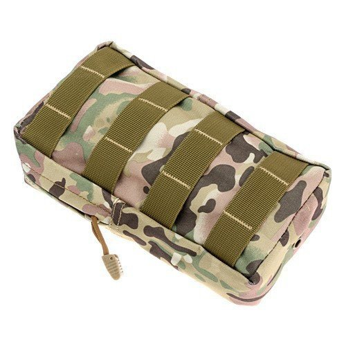 Tactical MOLLE PALS Modular Waist Bag Pouch Utility Magazine Mag Accessory Medic Tool Pack - Gogobomo Gear