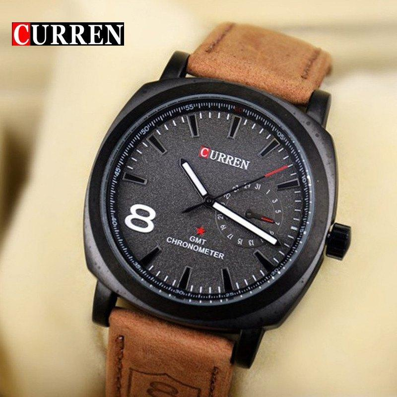CURREN Quartz Watch Men Wristwatches Fashion Military Army Vogue Sport Casual relogio masculino - Gogobomo Gear - 1