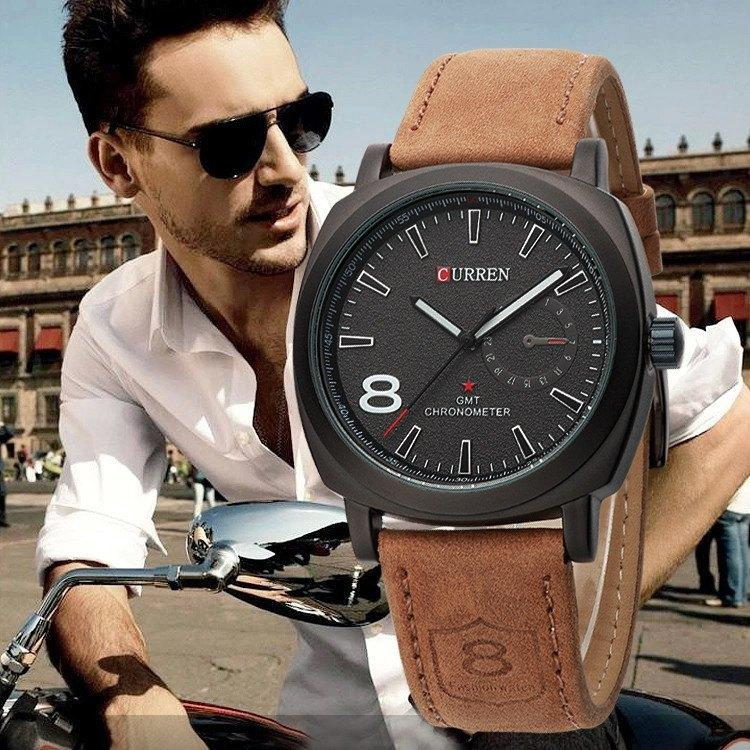 CURREN Quartz Watch Men Wristwatches Fashion Military Army Vogue Sport Casual relogio masculino - Gogobomo Gear - 2