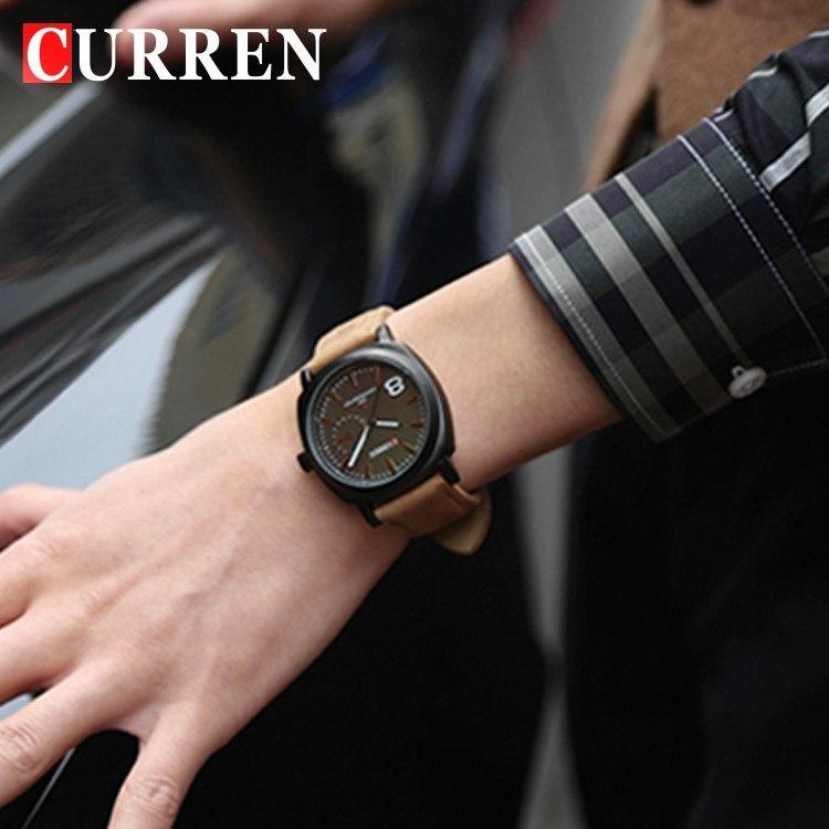 CURREN Quartz Watch Men Wristwatches Fashion Military Army Vogue Sport Casual relogio masculino - Gogobomo Gear - 4