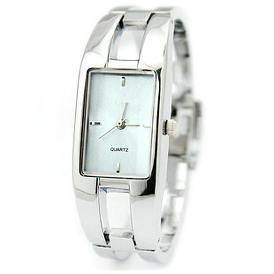 Women's Steel Belt Bangle Bracelet Quartz Watch Rectangle Watches Wristwatch Stylish - Gogobomo Gear