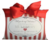 For My Valentine 100% Pure Mulberry Silk Pillowcase