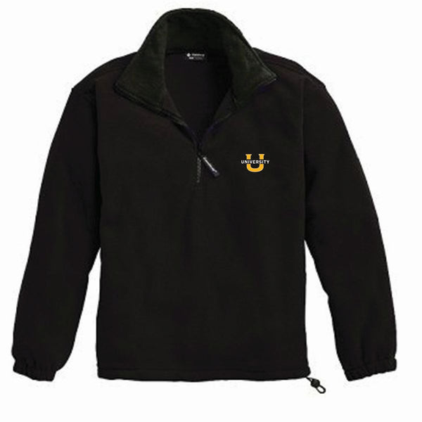 Quarter Zip Fleece Jacket           ON SALE NOW             (all sales final)