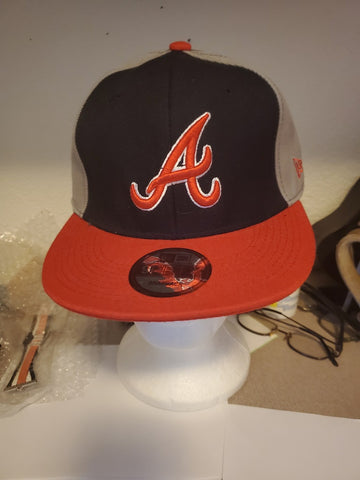 Atlanta Braves Traditional Colors Snap Back Baseball Cap
