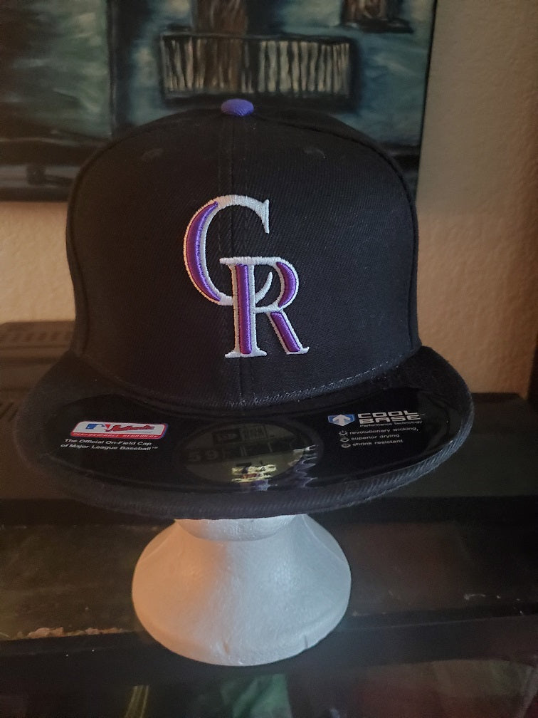 Colorado Rockies Fitted Baseball Cap