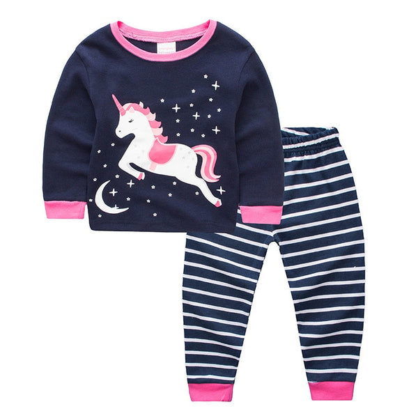 Jumpingbaby 2018 Unicorn Christmas Pajamas Pjs Girls Pijama De Unicornio Pyjamas Kids Kigurumi Kitty Dinosaurio Baby Girl Enfant 1