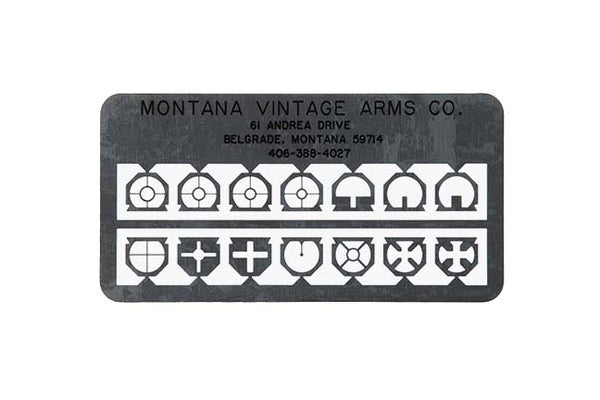 MVA #115/#116 front sight inserts