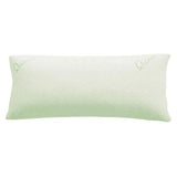Green Quiesta Bamboo Shredded Memory Foam Pregnancy Maternity Pillow
